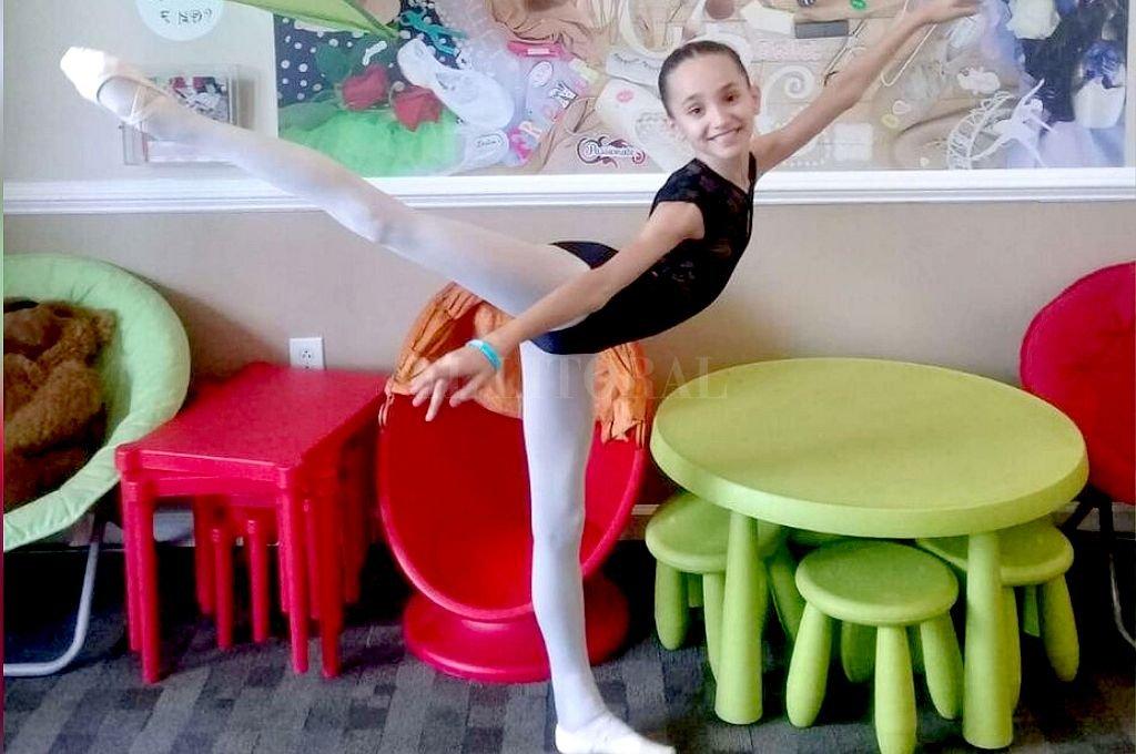 """Una campaña para que """"Pili"""", talento de la danza, compita en Nueva York"""
