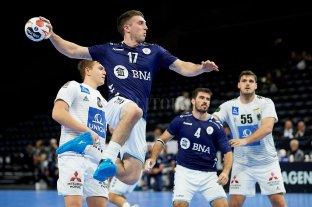 Argentina venció a Austria en el Mundial de Handball