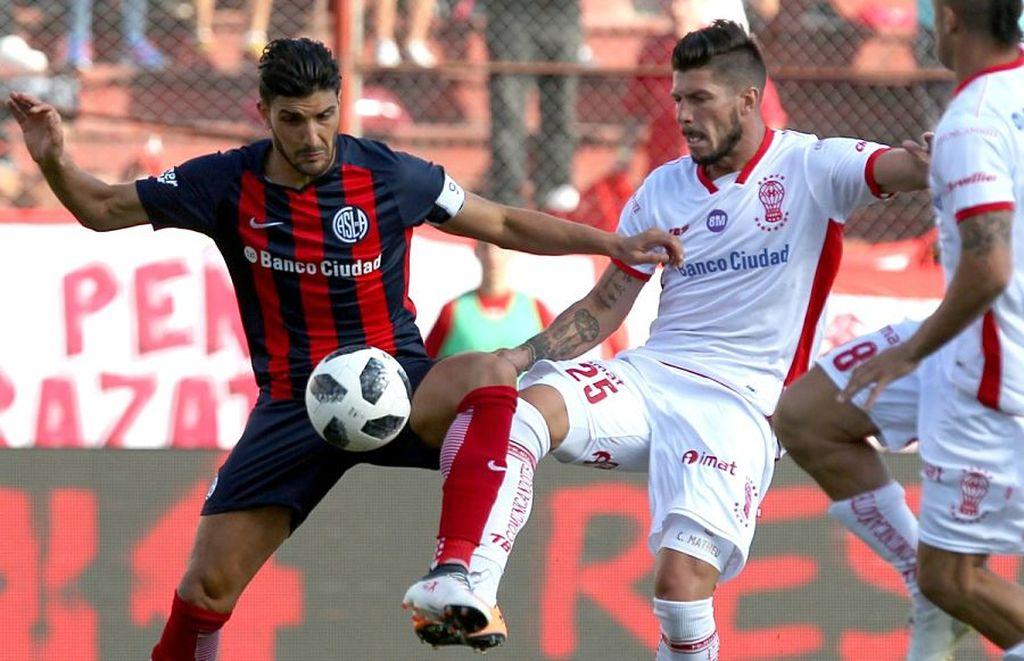 Superliga: San Lorenzo y Huracán se ponen al día