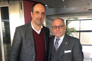 Cumbre del Mercosur: llega la misión técnica de Cancillería  - Encuentro. El intendente José Corral junto al canciller Jorge Faurie. -