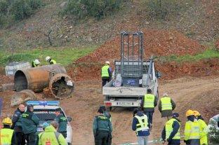 Avanza el túnel para alcanzar al niño que cayó en un pozo en España -  -