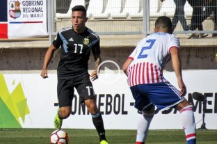 Sudamericano Sub 20: Argentina empató con Paraguay en el debut -  -