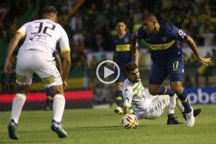 Sin jugar bien, Boca derrotó 2 a 1 a Aldosivi en Mar del Plata -  -