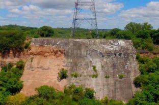 Preocupación en Paraná por desmoronamientos en la barranca de la Toma -