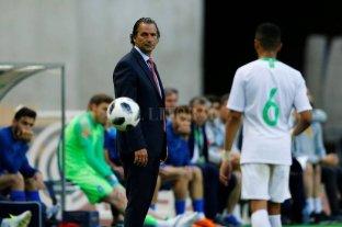 Juan Antonio Pizzi renunció como técnico de Arabia Saudita  -