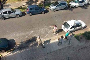 Demarcan la rampa del Cemafe para impedir el estacionamiento