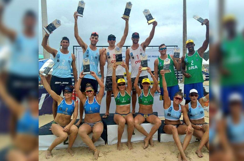 Beach Volley: Doble medalla para Argentina