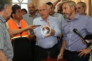Frigerio prometió un decreto amplio de emergencia para el norte santafesino
