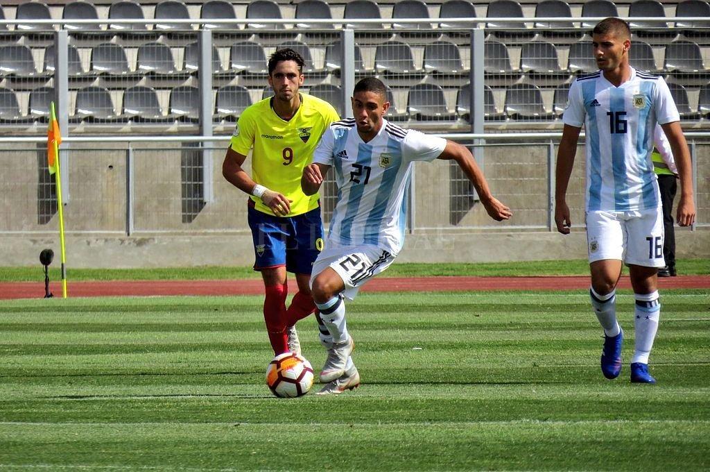 El Sub 20 perdió con Ecuador y se dificulta su clasificación al Mundial