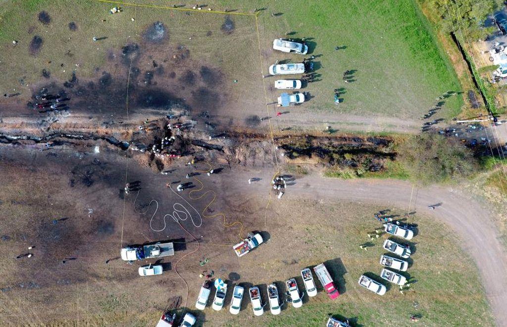 Ya son 96 los muertos por la explosión de un oleoducto en México