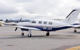 El avión en el que viajaba Sala tuvo varios intentos fallidos de despegue - Un avión del tipo en el que se trasladaba Emiliano Sala