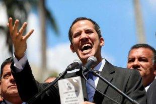 Guaidó se autoproclamó presidente interino de Venezuela -  -