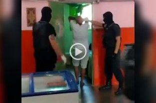 Un centenar de policías realizaron una requisa en la cárcel de Piñero