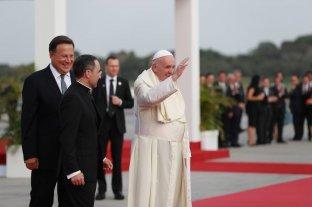 El papa Francisco arribó a Panamá para participar de la Jornada Mundial de la Juventud
