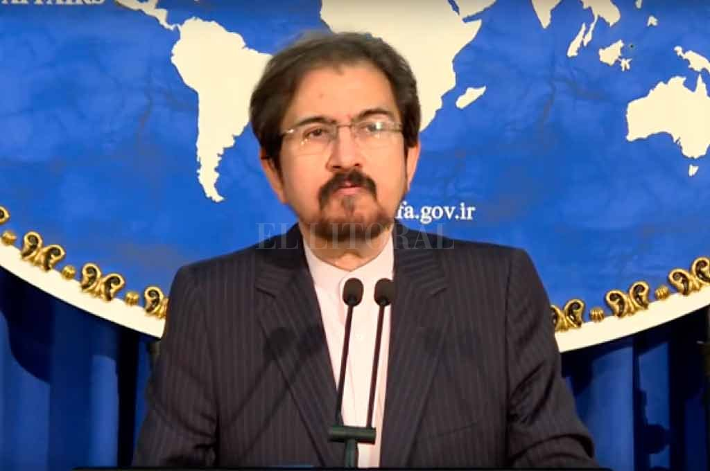 El vocero de la Cancilllería, Bahram Qasemi. <strong>Foto:</strong> Gentileza