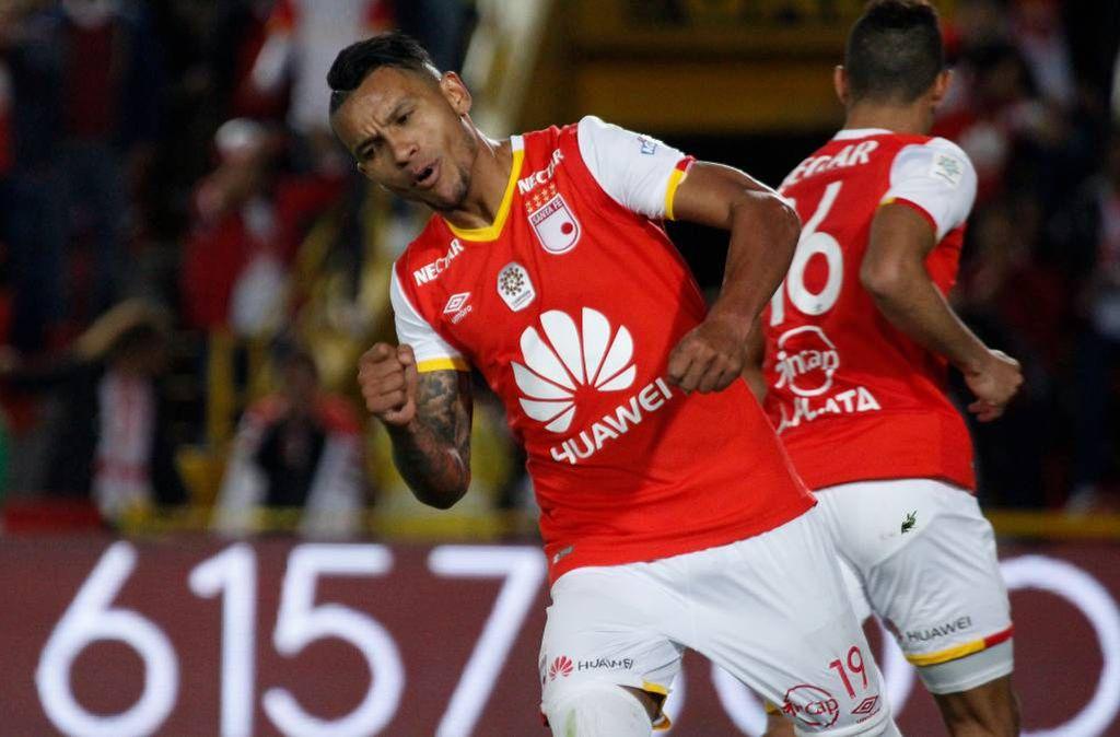 Wilson Morelo, un nombre con el que el hincha de Colón comenzará a familiarizarse. Faltan detalles para que el goleador de la Libertadores se convierta en la quinta cara nueva del plantel de Comesaña. <strong>Foto:</strong> Archivo