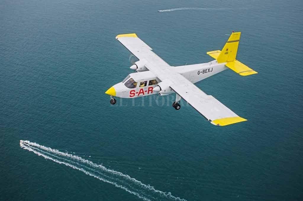 Uno de los aviones que buscaron en el Canal de la Mancha Crédito: Gentileza