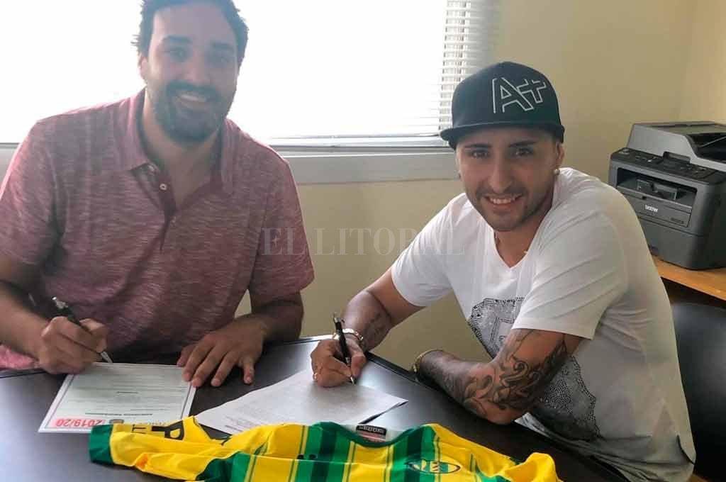 El jugador firmó con Aldosivi y continuará su carrera en el
