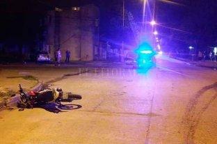 Niño lesionado tras siniestro vial en barrio Roma