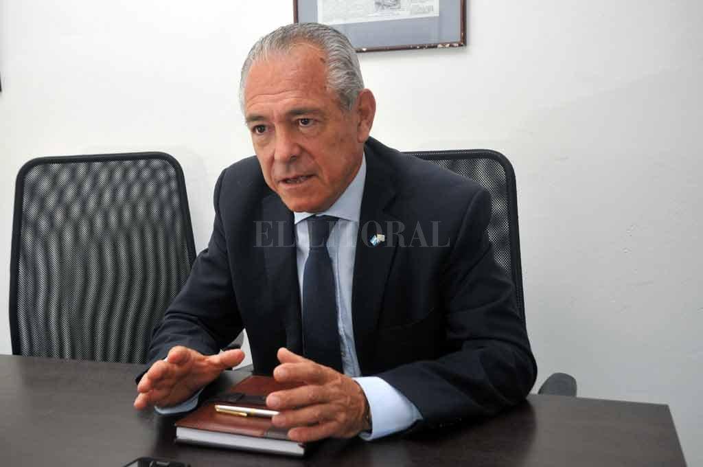 BARLETTA mantuvo una extensa charla desde Uruguay, tras un año de gestión como embajador argentino en ese país. Crédito: Archivo El Litoral