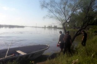 Desesperada búsqueda de una nena que cayó al río