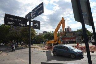 Avenida Freyre: por los trabajos de remodelación cortan un tramo de calle Catamarca