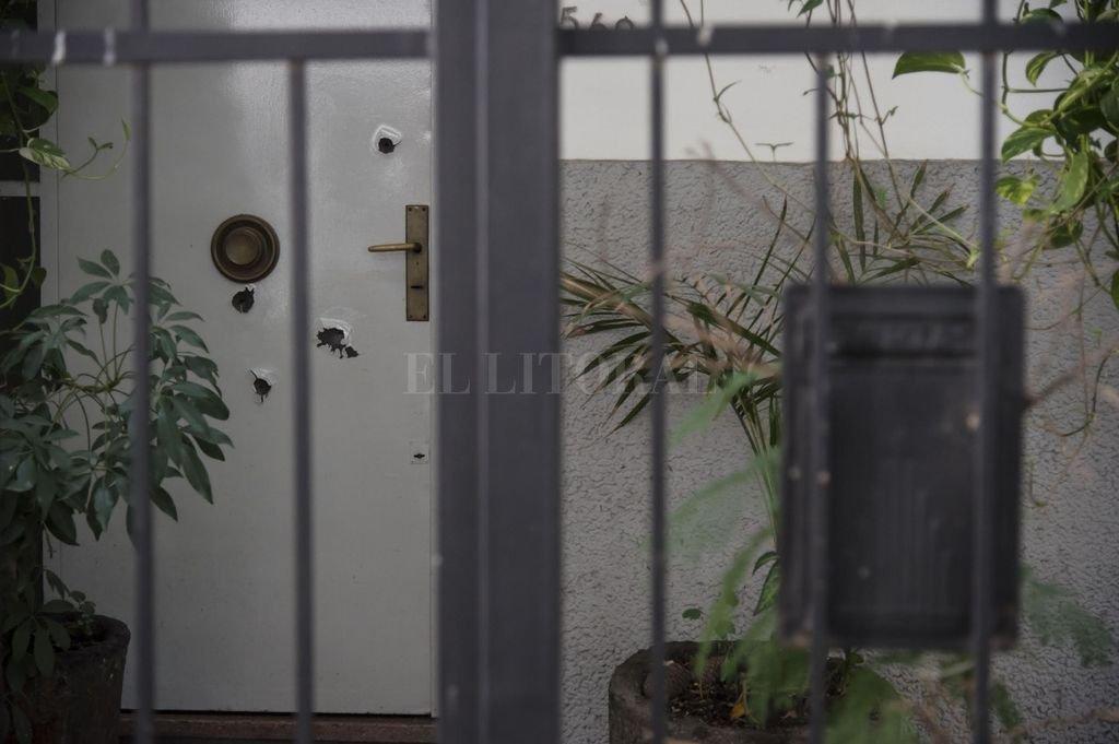 La vivienda se encuentra ubicada en la calle Rioja al 500, en barrio Martín. Crédito: Marcelo Manera