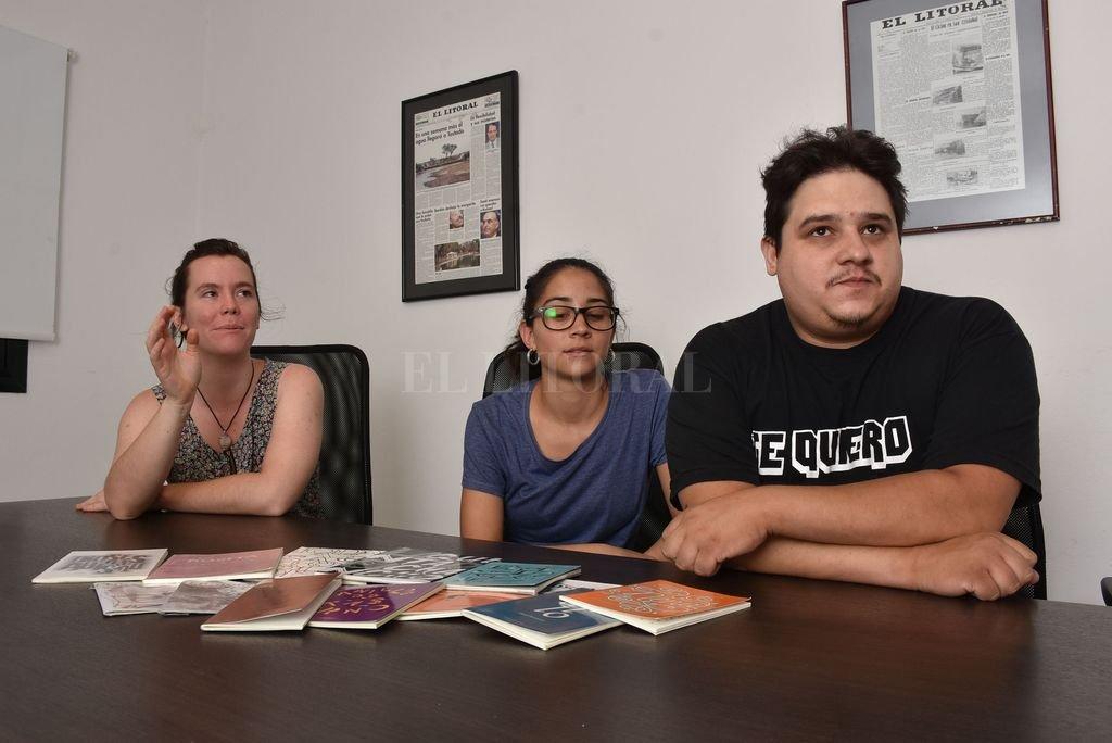 """""""Corteza sirvió para darle más variedad al campo editorial"""", reconocen los miembros del colectivo. Crédito: Guillermo Di Salvatore"""