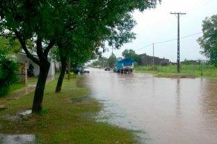 Las lluvias vuelven a castigar al centro y norte santafesino