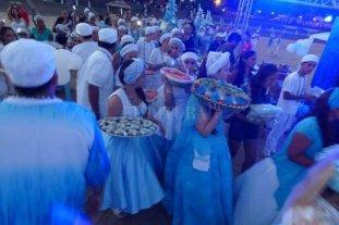 Fiesta de Iemanjá en Santa Fe