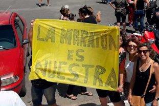 Vecinos de Coronda protestan por la suspensión de la Maratón