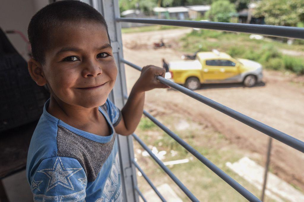 Un nuevo horizonte. Las viviendas cuentan con agua potable, desagües e infraestructura segura de electricidad. Crédito: Gentileza Municipalidad de Santa Fe