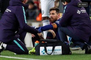 Messi podría perderse el primer partido contra el Real Madrid