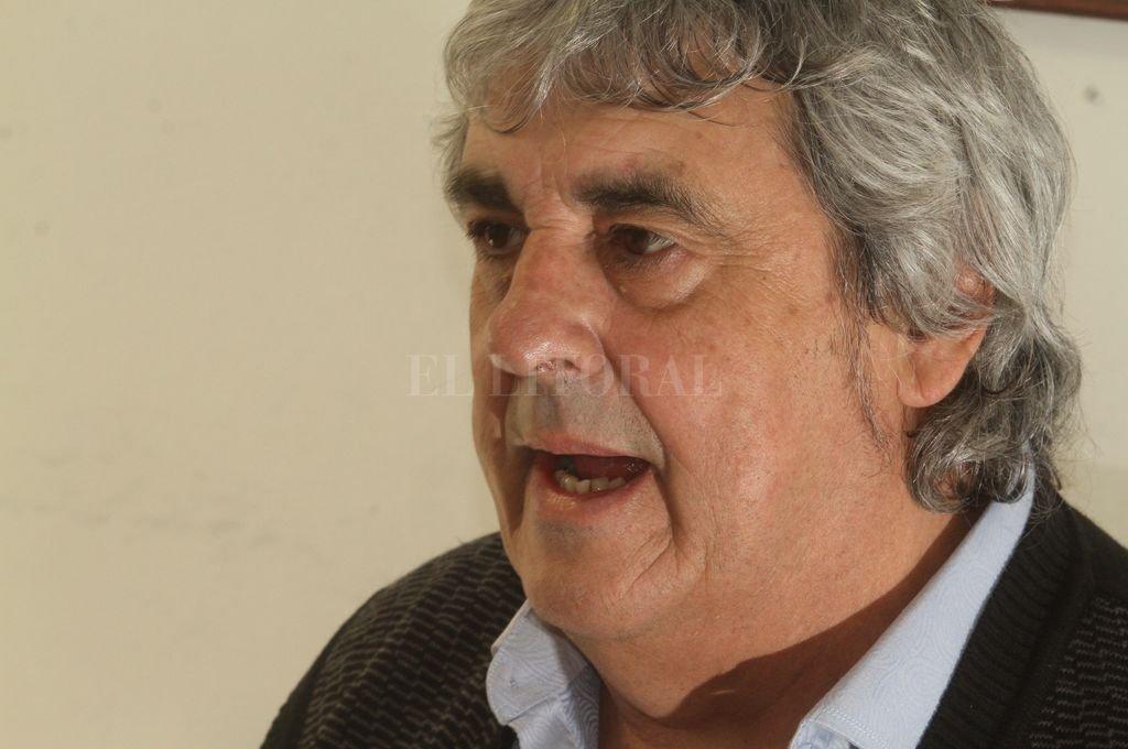 Sergio Romero, titular de la Unión de Docentes Argentinos <strong>Foto:</strong> Guillermo Di Salvatore