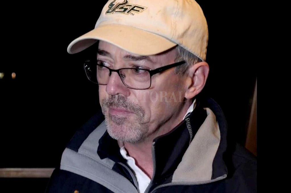 David Mearns, jefe del equipo privado de búsqueda que contrató la familia de Sala. <strong>Foto:</strong> Diario L'Equipe