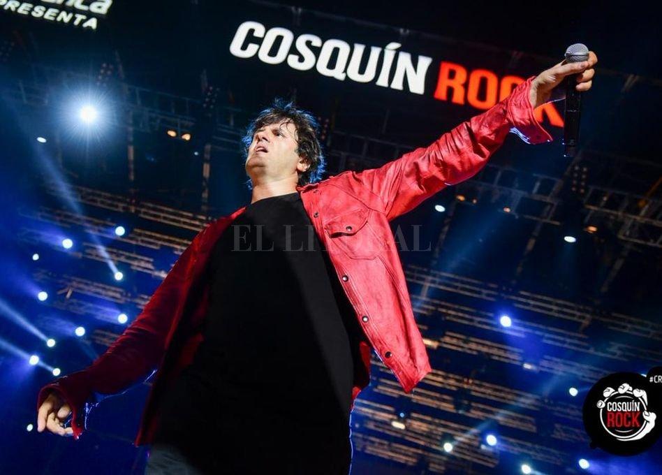 Ciro y los Persas, durante su show en Cosquin Rock 2018. <strong>Foto:</strong> cosquinrock.net