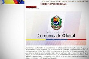 Hackearon las páginas de embajadas venezolanas en Argentina, Brasil y otros países en apoyo a Guaidó