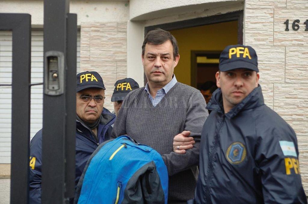 Manzanares está detenido desde julio de 2017, por las maniobras con los hoteles de los Kirchner. Ahora declaró como arrepentido en la causa de los cuadernos. <strong>Foto:</strong> Archivo El Litoral