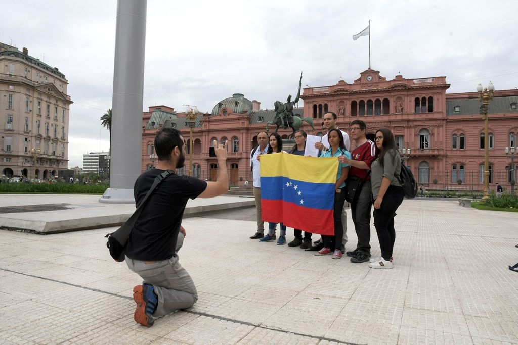 Argentina es luego de Colombia, Perú y Ecuador el cuarto país latinoamericano en cuanto a la magnitud de la comunidad venezolana residente: 99.435 venezolanos se radicaron desde 2006 hasta agosto de 2018.   Crédito: Télam
