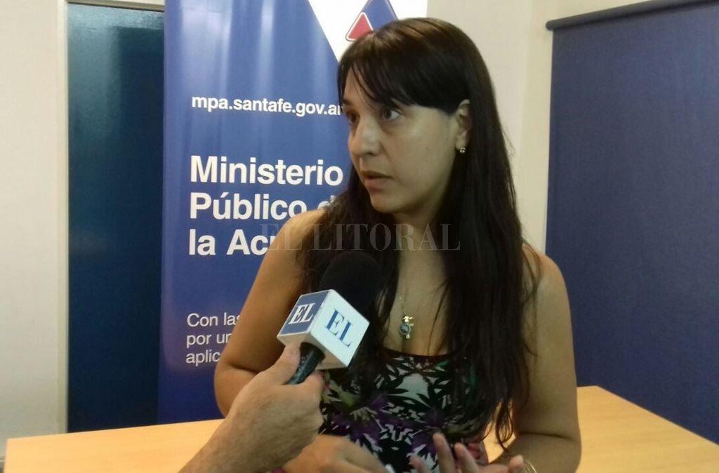La fiscal Alejandra Del Río Ayala solicitará 15 años de prisión. <strong>Foto:</strong> Archivo El Litoral