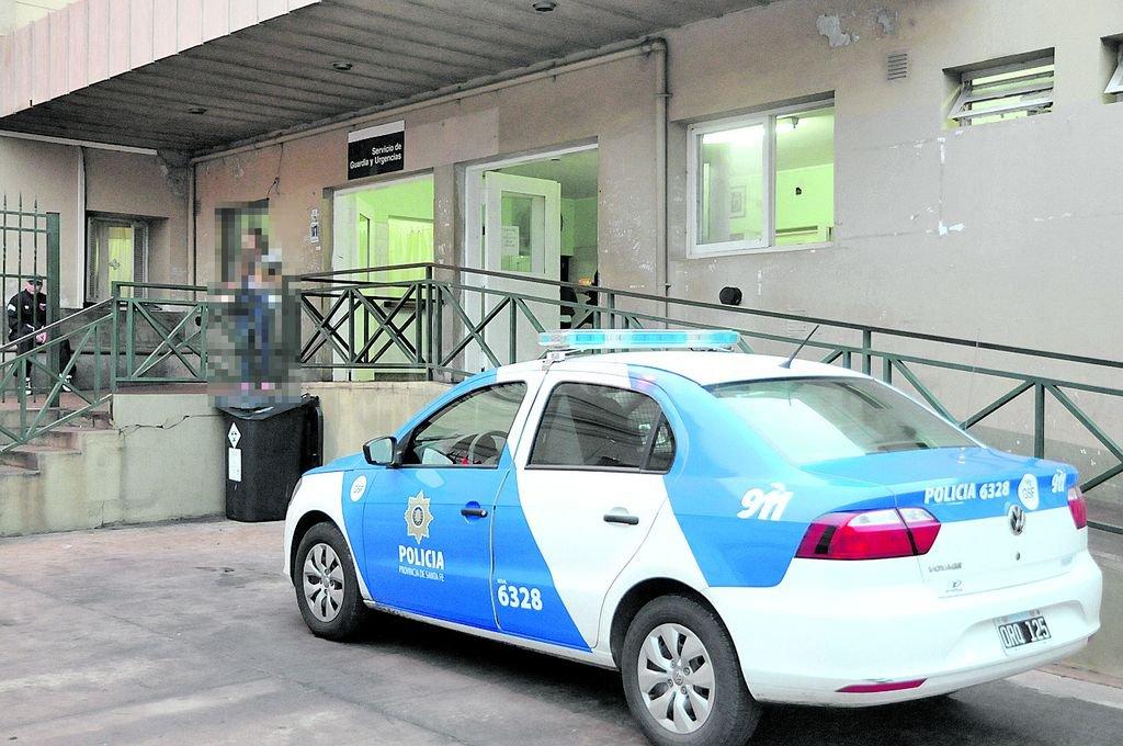 La madre de la beba de Desvío Arijón permanece internada en el hospital Cullen con custodia policial Crédito: Archivo El Litoral