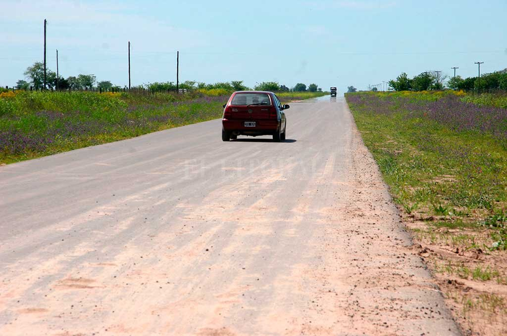El cuerpo fue encontrado a unos 600 metros de la ruta 64. <strong>Foto:</strong> Archivo.