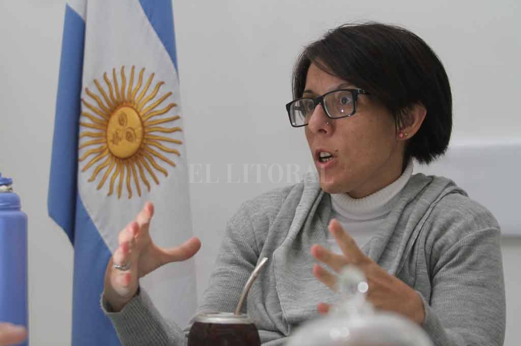 Caren Schibelbein, delegada por Santa Fe. Crédito: Archivo El Litoral / Pablo Aguirre