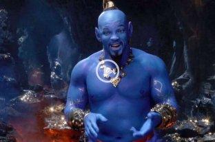 """Disney presentó el tráiler de """"Aladdín"""" con Will Smith como el Genio -"""