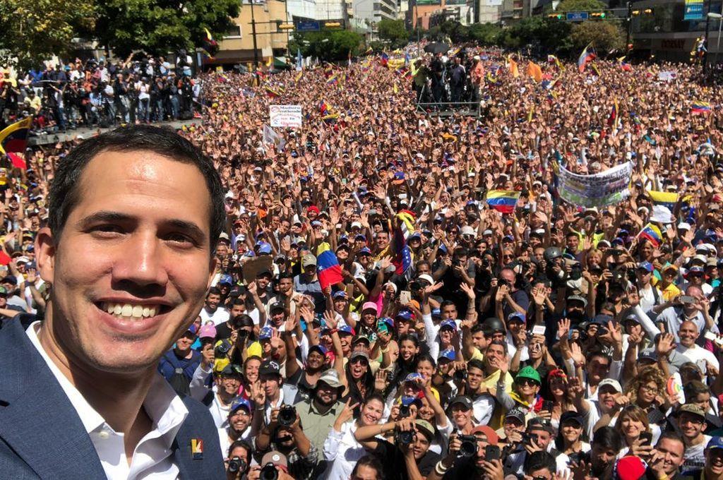 <strong>Foto:</strong> Twitter Juan Guaidó
