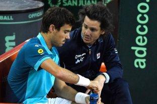 Gastón Gaudio seguirá como único capitán del equipo argentino de Copa Davis