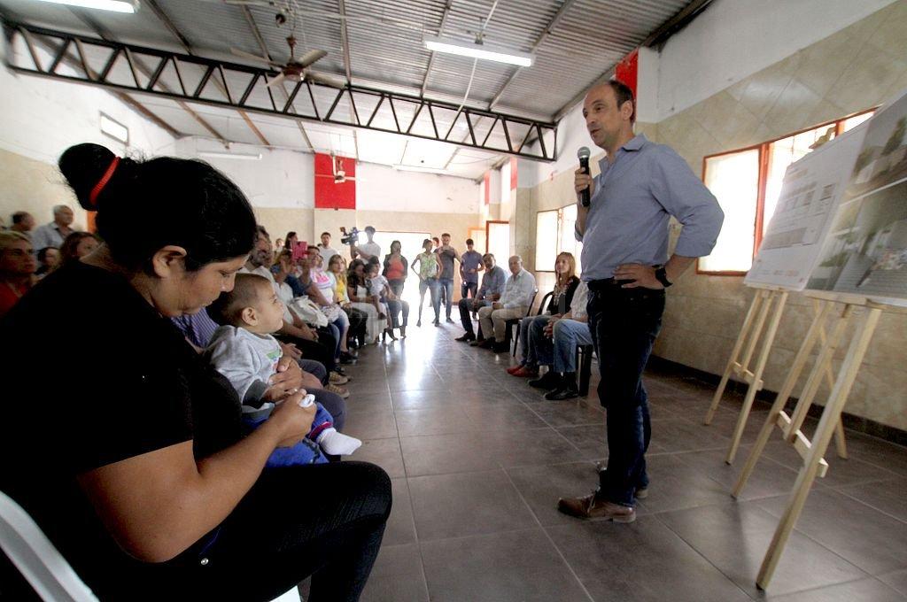 El futuro jardín tendrá seis salas, a las que podrán asistir más de 160 alumnos. <strong>Foto:</strong> Mauricio Garín