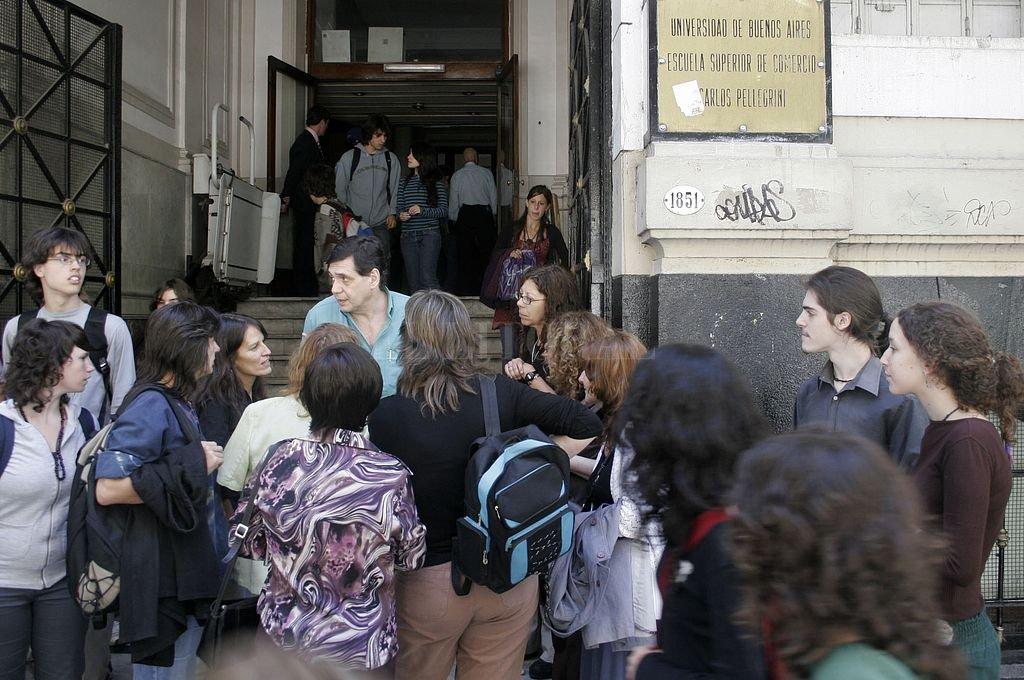 Colegio Carlos Pellegrini. <strong>Foto:</strong> NA