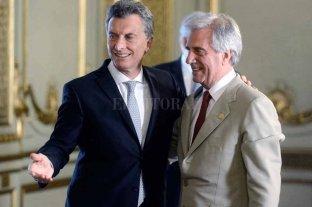 Macri se reúne con Tabaré Vázquez para hablar sobre Venezuela
