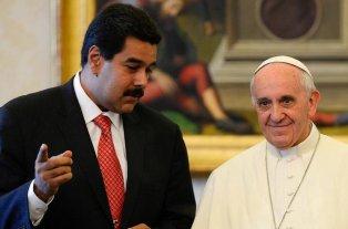 Se filtró la carta del papa Francisco a Nicolás Maduro